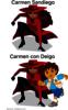 Carmen con Diego
